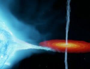 「はくちょう座X-1」のブラックホールは従来の予想よりも重かった?