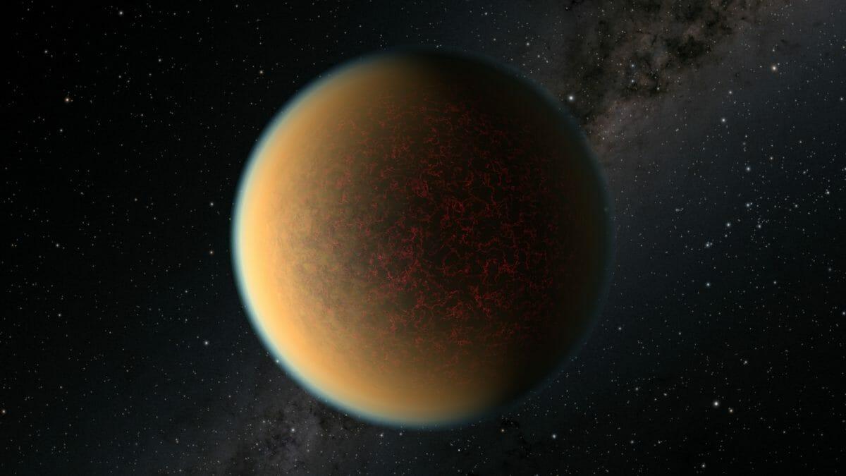 太陽系外惑星「GJ 1132 b」を描いた想像図(Credit: NASA, ESA, and R. Hurt (IPAC/Caltech))