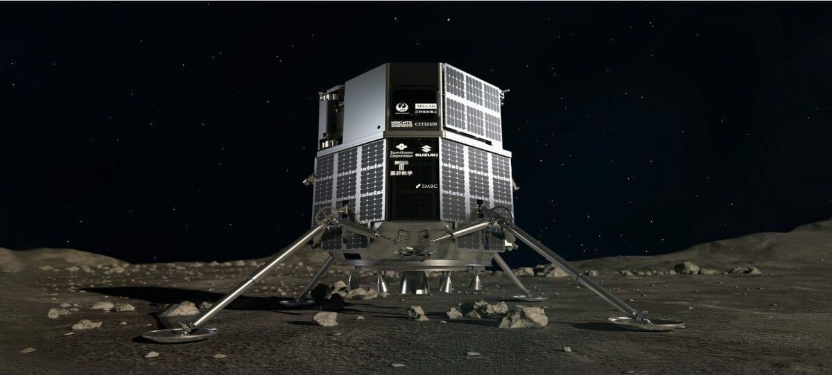 株式会社ispaceが開発を進めるランダー(月着陸船)(Credit:ispace website)