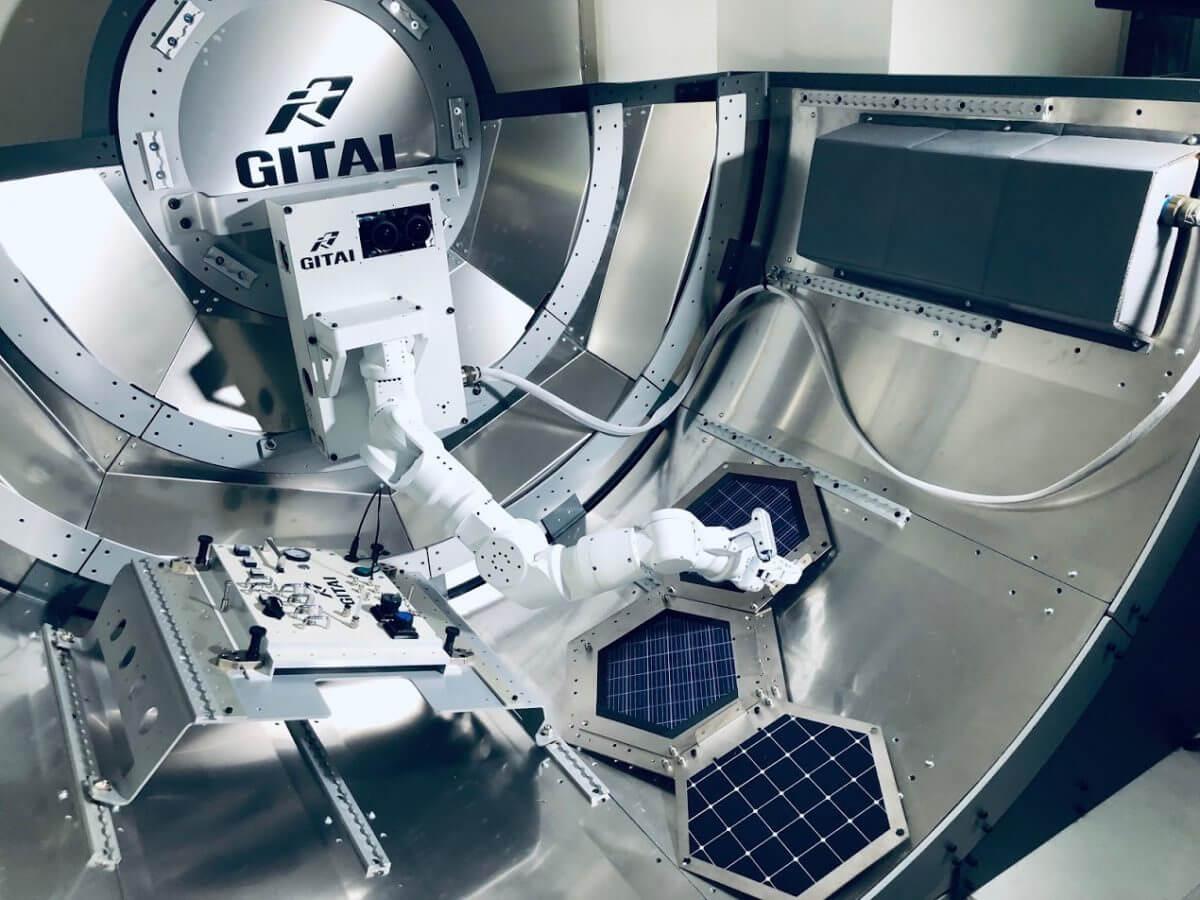 GITAIが開発を進める宇宙用ロボットアームS1(Credit: GITAI)