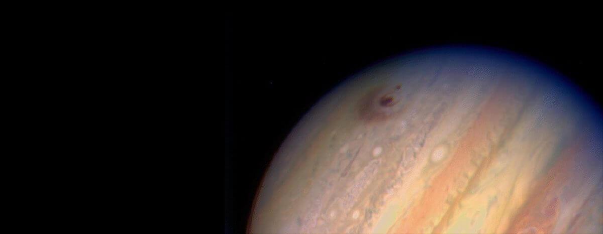 木星に残った衝突痕(Credit: H. Hammel (MIT), WFPC2, HST, NASA)