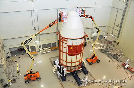 改良された衛星フェアリングの直径は4.2m(Credit: CALT)