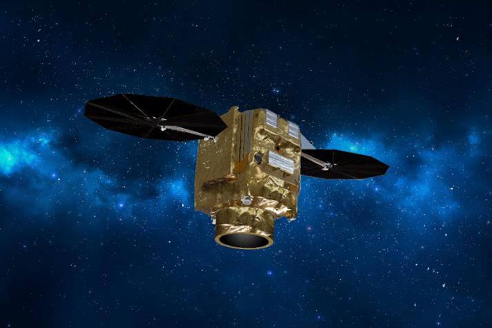 地球観測衛星「プレアデスネオ」のイメージ図。分解能30cmと高性能だ(Credit: Arianespace)