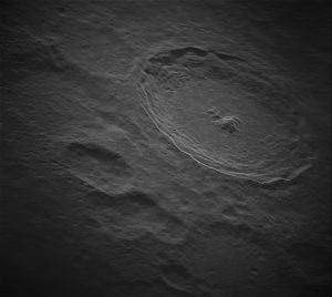 地上からレーダー観測された月のティコ・クレーター周辺の高解像度画像が公開される