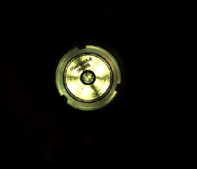 金属キャップで密閉された後のサンプル保管容器266番(Credit: NASA/JPL-Caltech)